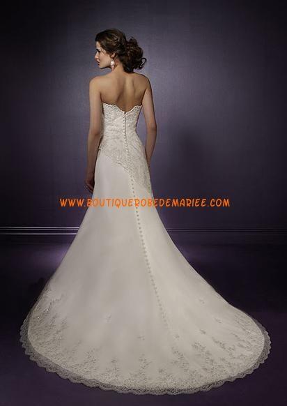 Robe de mariée dentelle avec bustier  Robe de mariée dentelle ...