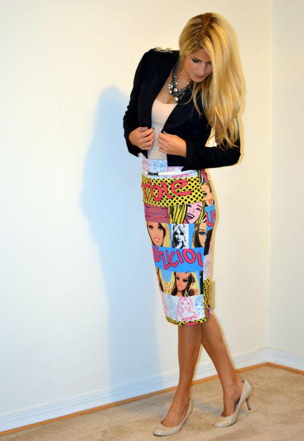 Barbie! (Comic Prints Abound) |