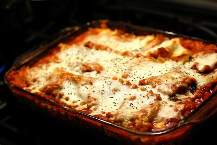 Tofu, Kale and Mushroom Lasagna | Vegetarian Recipes | Pinterest