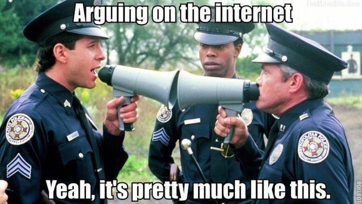 Uploaded to PinterestInternet Argument Meme