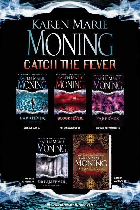 Fever Series by Karen Marie Moning.  Smoking hot, made me want to be priya.
