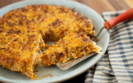 Parsnips and carrots give this potato pancake-style dish wonderfully ...