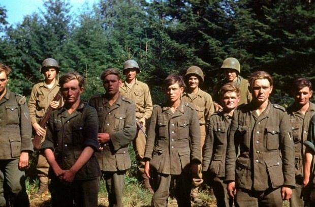 d day german troops