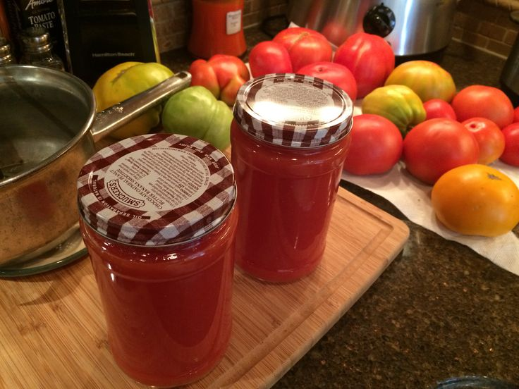 Homemade tomato juice | Southern Treats | Pinterest