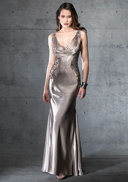 Silk Charmeuse Dress Wedding Ideas Pinterest