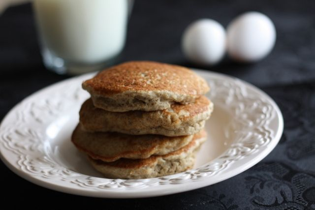 Gluten-Free Buttermilk Pancakes….with High Protein Cheesecake Icing ...