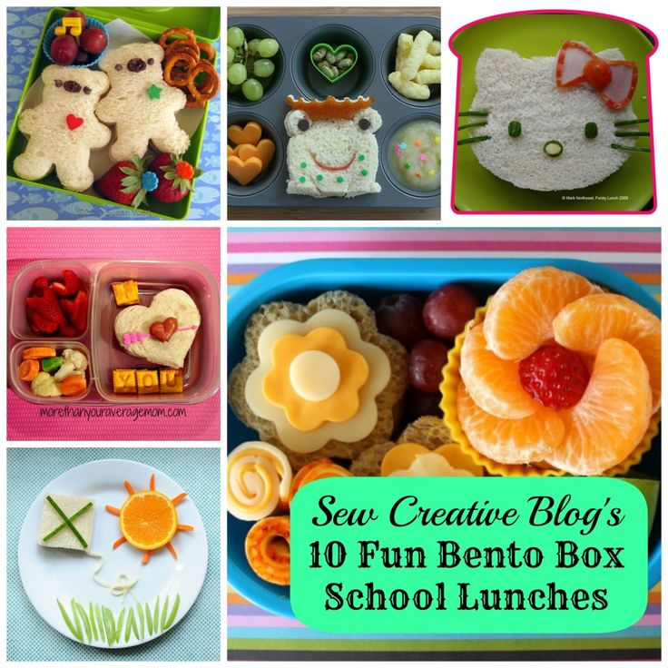 10 fun bento box school lunches ideas for the kids. Black Bedroom Furniture Sets. Home Design Ideas