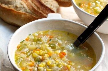New York Corn Chowder with Tarragon — Punchfork