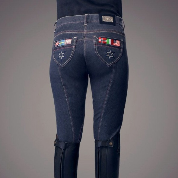 Perfect denim breeches for an Olympic year!
