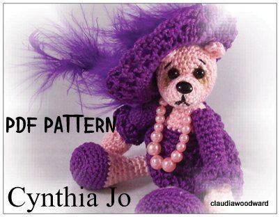 CROCHET KNITTING MINIATURE PATTERN THREAD - Crochet Club