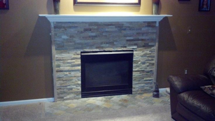 Olympia Ledgestone Fireplace Refacing Fireplace Pinterest