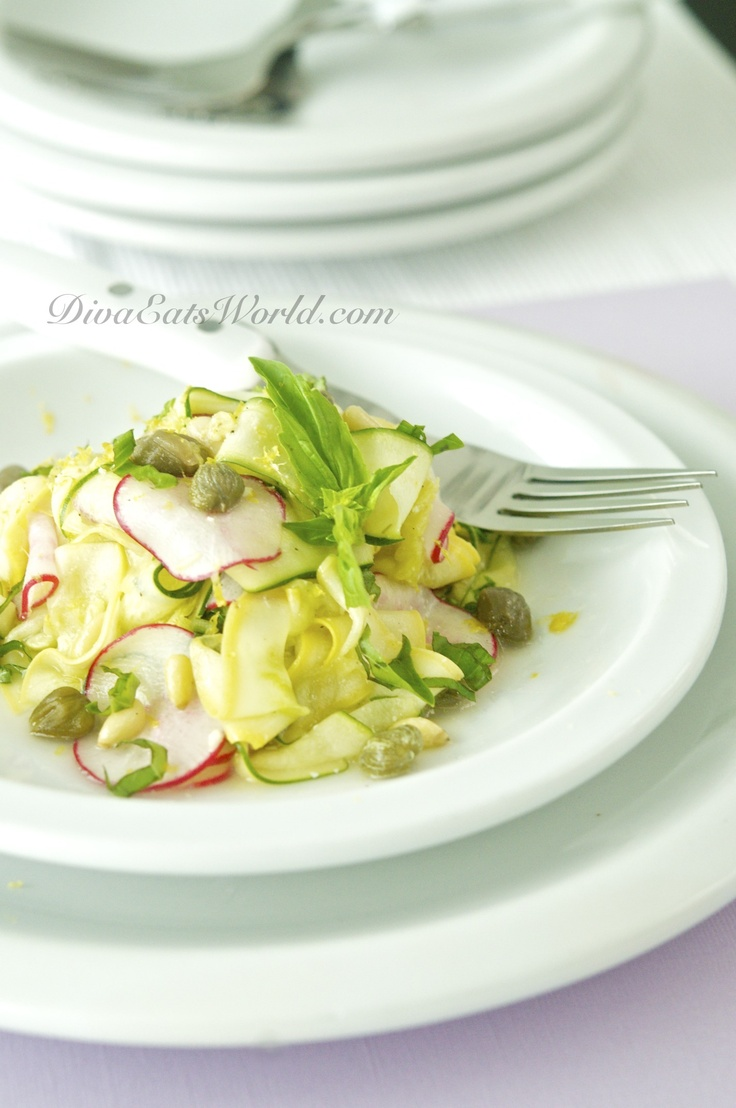 Summer Squash Salad | From the Kitchen | Pinterest