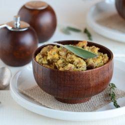 Turkey-Sage Cornbread Stuffing | mmm! | Pinterest