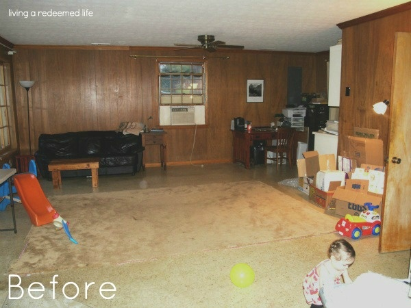 Painted Wood Paneling Before After For The Home