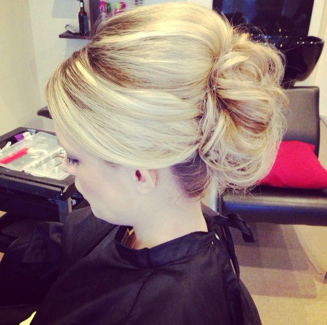 Wedding hair trial | Wedding hair ideas | Pinterest