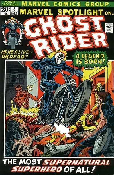 Ghost rider the subject of many great books and a couple of shitty