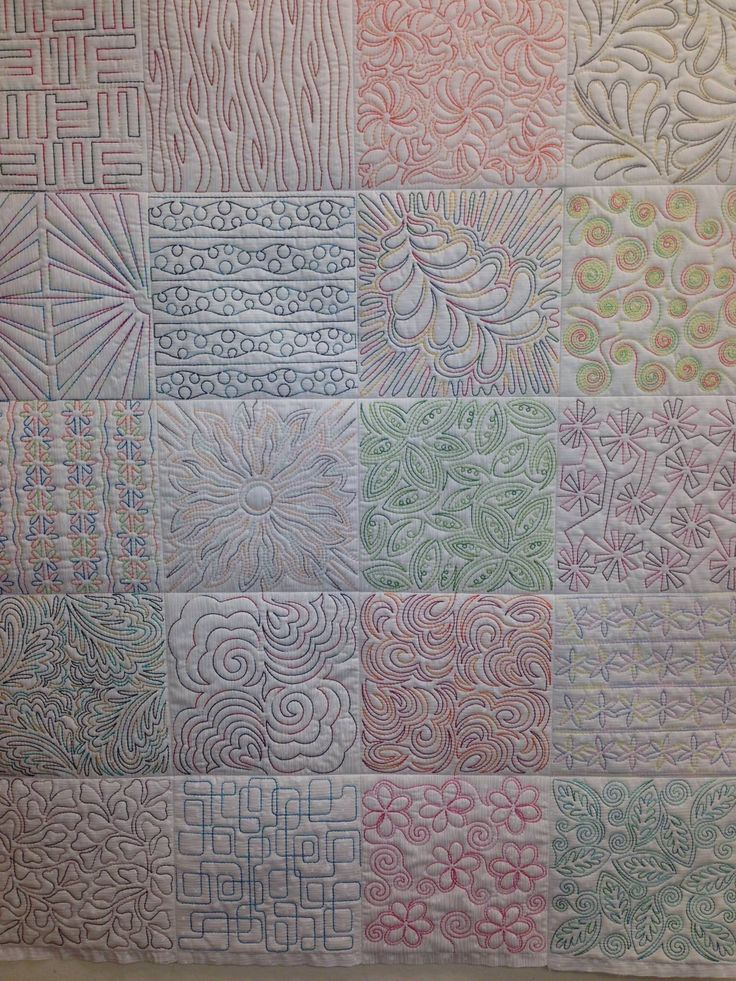Free Motion Quilting Patterns Pinterest : Free quilting templates crafts