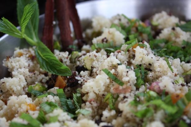 Couscous With Dried Apricots, Currants, and Pistachios | Recipe