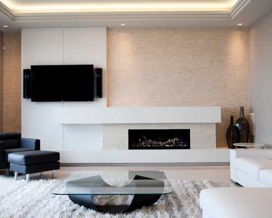 linear fireplace design pictures remodel decor and