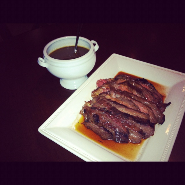 Marinated Flank Steak (London Broil) Recipes — Dishmaps