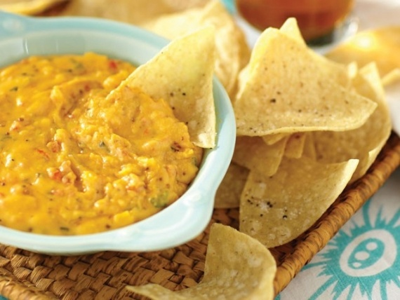 Warm Pimento Cheese and Chips | Food | Pinterest