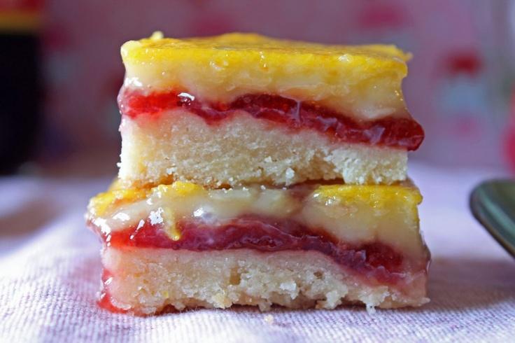 Lemon Raspberry Squares | Food & Drink | Pinterest