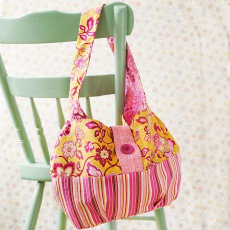 How to make a tote bag Skip To My Lou