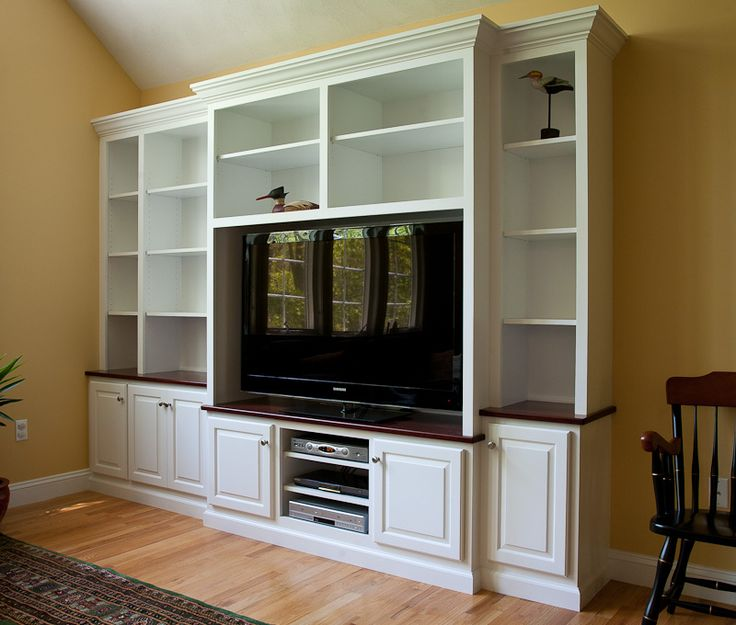 Creative Custom Builtin Bookcase WCabinets Below And Fluted Columns 465000