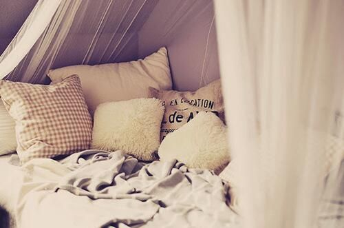 Sleep With A Lot Of Pillows