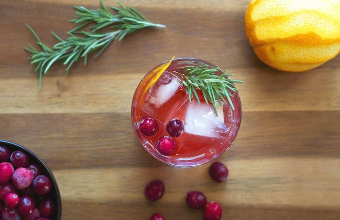 Spiced Rum & Cranberry Old Fashioned | Good Food and Great Friends ...