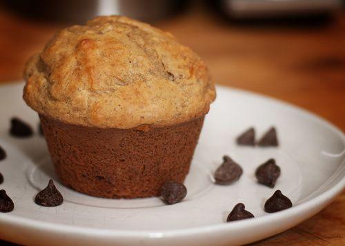 low fat peanut butter banana muffin | Recipes | Pinterest