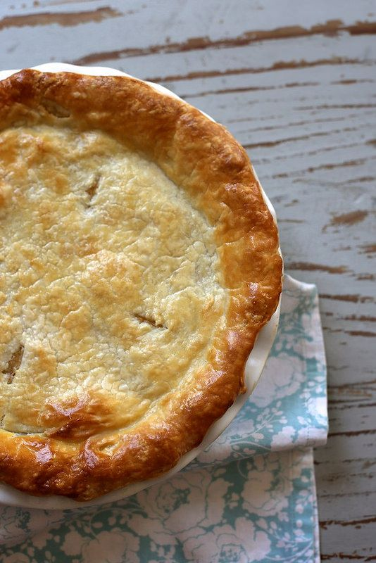 Double Crust Chicken Pot Pie-I have made this and it is wicked good ...