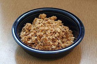 Basic Healthy Granola | www.kishhealth.org