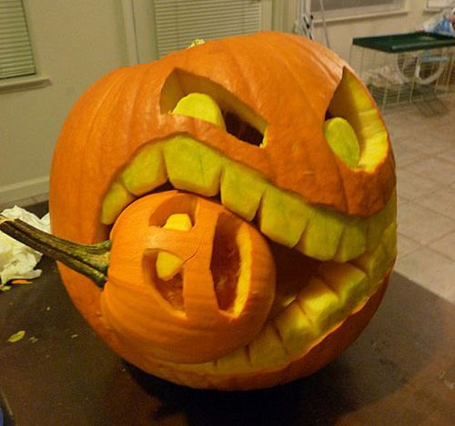 Awesome pumpkin spooky halloween ideas pinterest Awesome pumpkin designs
