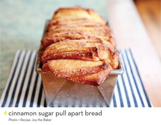cinnamon sugar pull apart bread | Yum, Bread | Pinterest