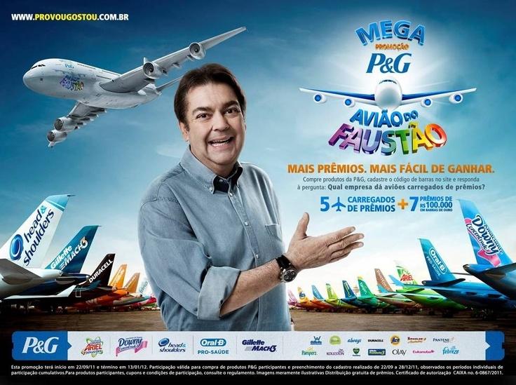 P & G: Avião do Faustão
