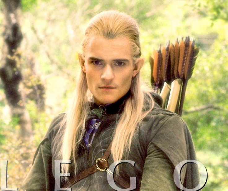 My husband doesn't understand this but having a crush on Orlando Bloom and one on Legolas are totally separate things.  One is scruffy brown eyed actor other is stubborn blond sexy elf. #actors #celebrities