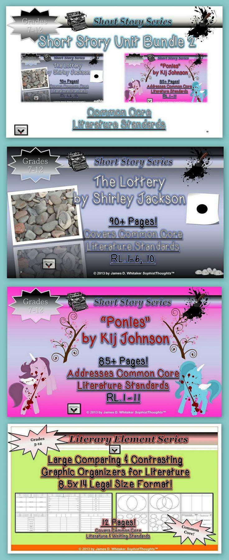shirley jackson short stories pdf