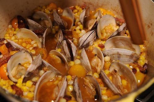 Corn, Bacon, and Clam Stew | Recipe