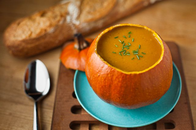 chow life's curried pumpkin apple soup} You had me at curried, Ms ...