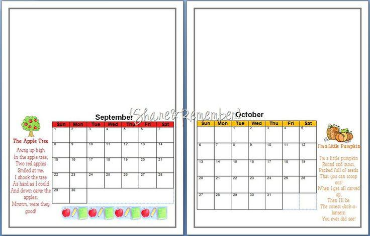 736 x 471 jpeg 41kB, Handprint Calendar 2013   New Calendar Template ...