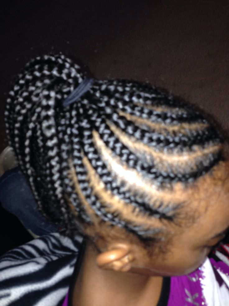 brandy norwood hairstyles : ... the side to the middle Hairstyles/braids for kids and adults