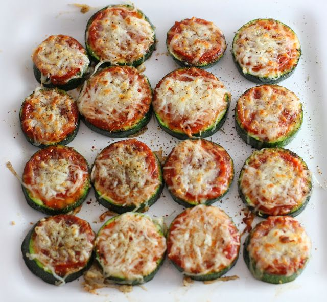Healthy Zucchini Pizza Bites   Anything and Everything Low to No Carb ...