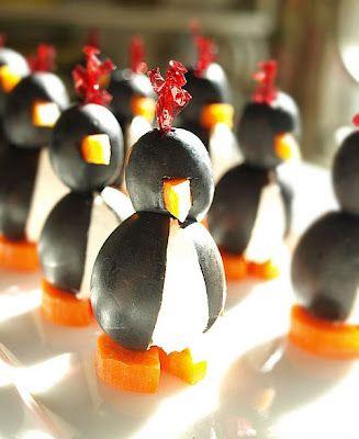Cream Cheese Penguins | recipes | Pinterest