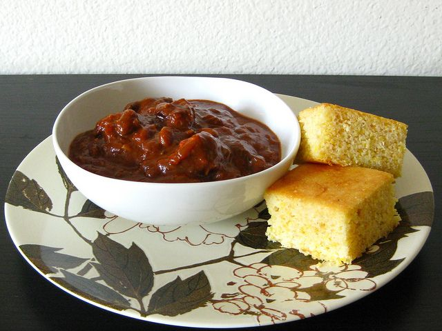 Beef, Pork and Pinto Bean Chili | Recipe
