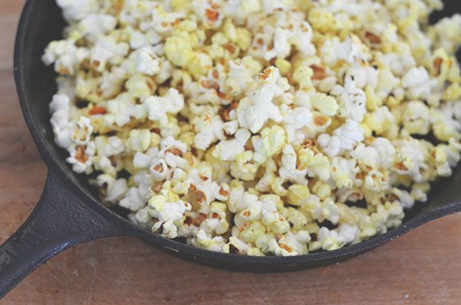 coconut curried popcorn snack time:) | T A S T Y | Pinterest