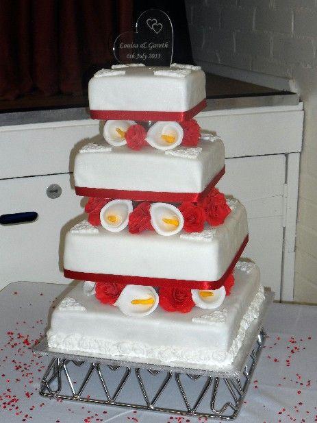Louisa' Wedding Cake | Cakeyfloss | Pinterest