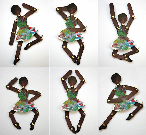 articulated dancer activity