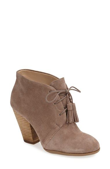 Sole Society 'Tallie' Lace-Up Bootie (Women)