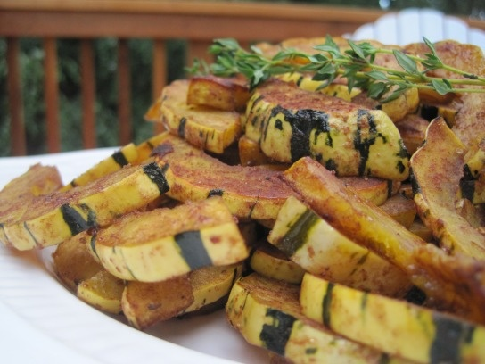 five spice roasted winter squash | winter recipes | Pinterest